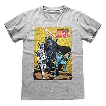 Star Wars Unisex Adult Darth Vader T-paita