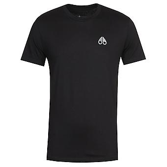 Moose Knuckles Black Sully T-Shirt