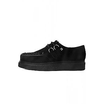 TUK Shoes 1970 Creeper Black Suede