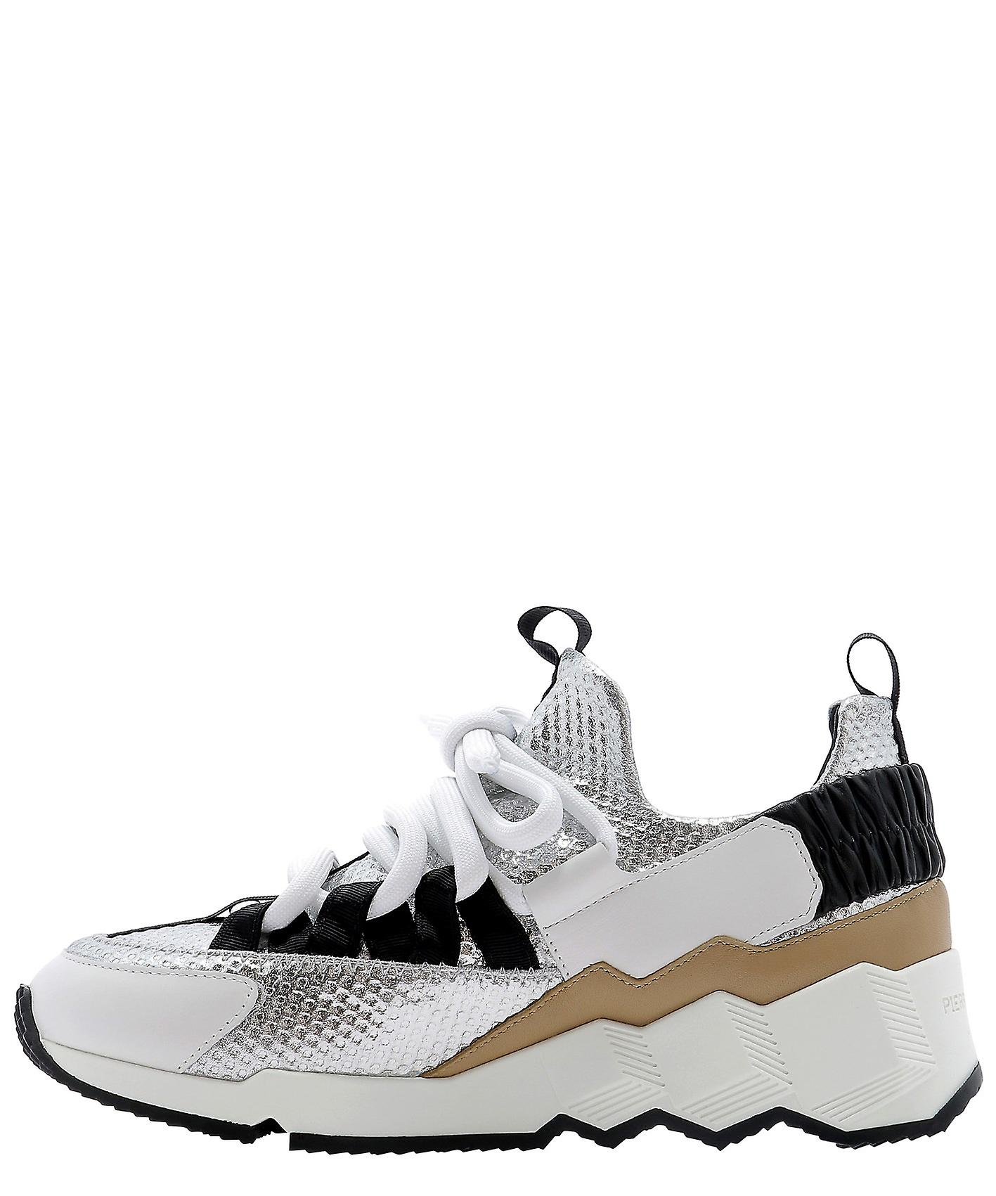 Pierre Hardy Ns04xsilver Women's Multicolor Polyester Sneakers