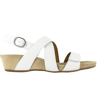 Benvado White Jade Sandals in Soft Leather