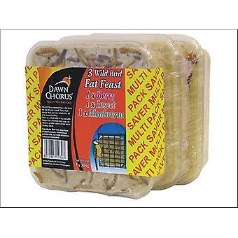Dawn Chorus Fat Feast Assorted Value x 3 10306