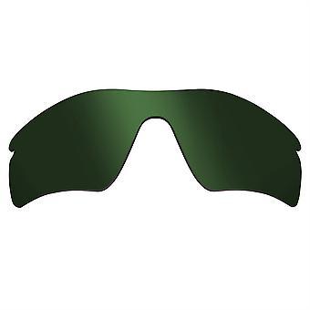 العدسات البديلة المستقطبة لنظارات أوكلي مسار الرادار المضادة للخدش الأخضر