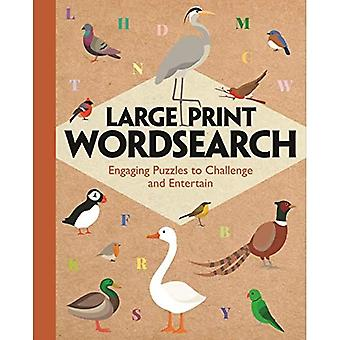 Large Print Wordsearch: Engaging Puzzles to Challenge and Entertain (Large Print Puzzles)