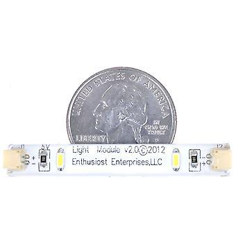 Brickstuff 2-Light Cool White LED Light Strips (10-Pack) - LEAF02-CW-10PK