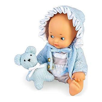 Vauvanukke asusteilla Barriguitas (14,5 cm)
