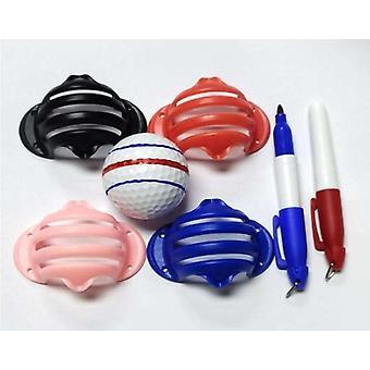 ゴルフボールアライメントライン、マーカーマーク、テンプレートポジショニングボール用ドローマーク