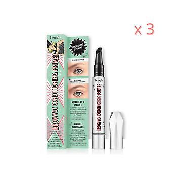 3 x Benefit Browvo! Conditioning Primer 3.0ml