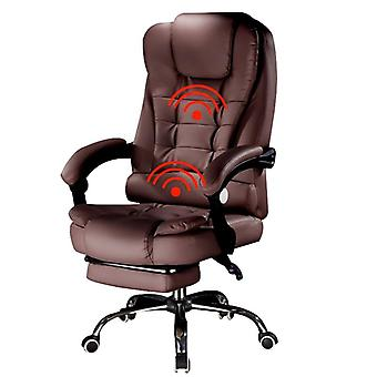 Massage/computer Gaming Chair, stafstoel met lift en draaifunctie