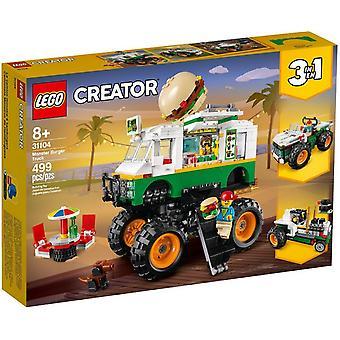 LEGO 31104 hamburger Monster Truck