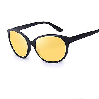 Women Anti-glare Lens Yellow Polarized Sunglasses