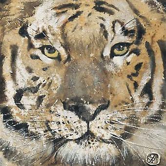 Tiger Poster Print von Yuliya Volynets