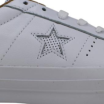 Converse One Star Leather OX White/Sand Dune 153700C Men's