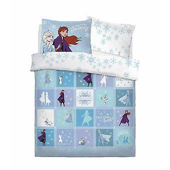 Frozen Patchwork Duvet Cover Set