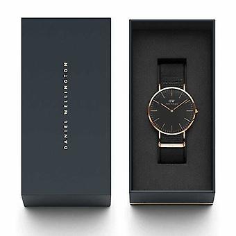 Hombres's Daniel Wellington Negro Cornwall Reloj 40mm Reloj DW00100148