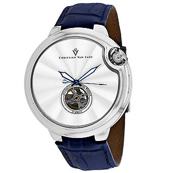 Christian Van Sant Men's Propeller Silver Dial Watch