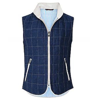 Waterville Linen Box Quilted Gilet