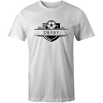 Derby County 1884 etablerade Badge fotboll T-shirt