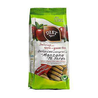 Wholemeal Delights with Apple and Green Tea 175 g