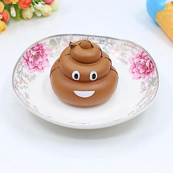 Poop Squeeze Toy Stress Reliever  (coffee)