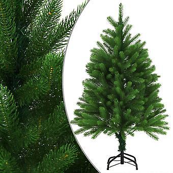vidaXL الاصطناعية شجرة عيد الميلاد الإبر نابض بالحياة 120 سم الأخضر