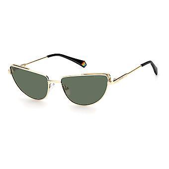 Polaroid PLD6129/S PEF/UC Gold Green/Green Polarised Sunglasses