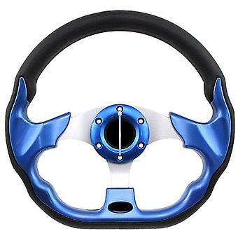 Golf Steering Wheel, Aluminum +carbon Fiber, Sports Style, Cart Replacement