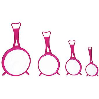 siebsatz 6,5-14 cm rosa