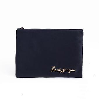 Vrouwen cosmetische tas, zachte make-up opslag bag-pads