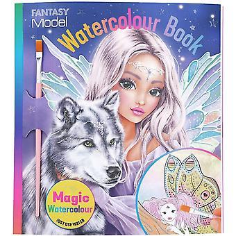 Fantasy Model Watercolour Book Fairy