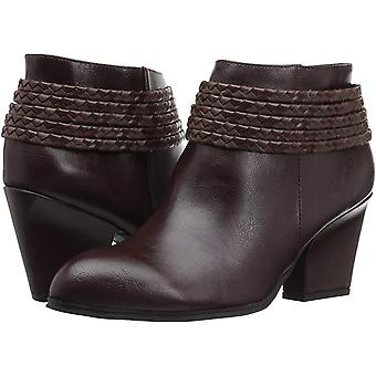 LifeStride Womens Western Closed Toe Ankle Fashion Boots