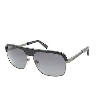 ZILLI Sunglasses Titanium Acetate Leather Polarized France Handmade ZI 65024 C05