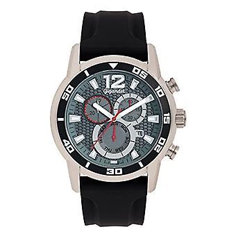 Gigandet G14-005 - Men's watch, silicone strap, color: black