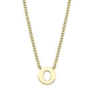 Liebe Halskette mit Unisex-Anhänger, Edelstahl, O