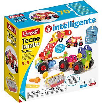 FengChun 6150 Tecno Jumbo Toolbox-Konstruktionsspielzeug, Fahrzeugspiel, I Pezzi Hanno Molti Colori