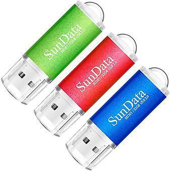 FengChun 32GB USB Flash Drive 3Pack 32GB USB 2.0 Memory Stick Daumen laufwerke Usb-Stick für