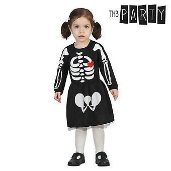 Kostüm für Babys Skelett