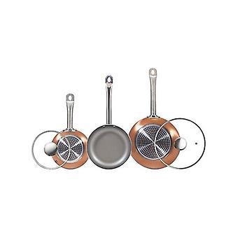 Set of pans San Ignacio Copper Toughened aluminium (5 pcs)