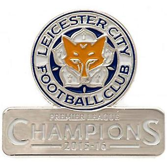Leicester City FC Badge Champions