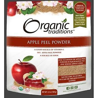 التقاليد العضوية مسحوق قشر التفاح، 3.5 أوقية