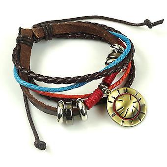 Uzumaki Naruto Ace Hut gewebt Armband Armband
