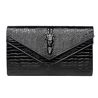 Leather Small Shoulder Clutch Bag For Prom