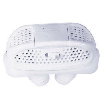 (White) Mini-CPAP Anti Snoring Device Sleep Aid Apnea Stop Snore Stopper Sleep Device