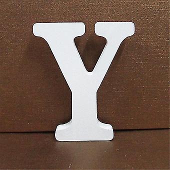 Numeri di casa lettere bianco legno inglese alfabeto / numeri fai-da-tu personalizzato nome design arte craft