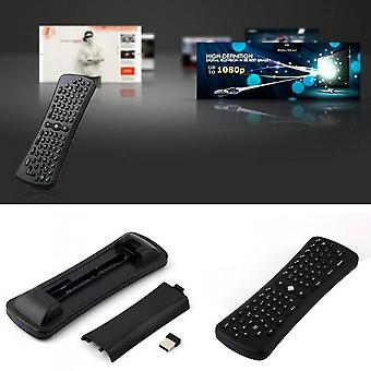 2.4ghz Mini Wireless Mouse Gyro Sensing Keyboard For Android Smart Tv Box
