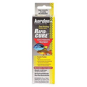 Kordon Rapid Cure Ich & Parasite Treatment - 4 oz - (Trata 2.000 Galões)