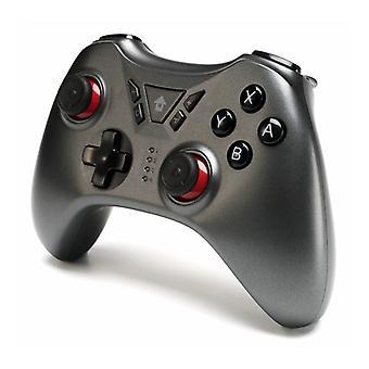 כרונוס מתג Pro בקר לוח משחק אלחוטי עבור מתג NS עבור PS3 / PC / אנדרואיד / קיטור (אפור)