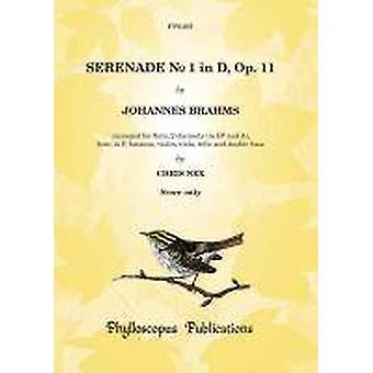 Brahms: Serenade No. 1 in D Op. 11 (Score only) [2 clarinet version]