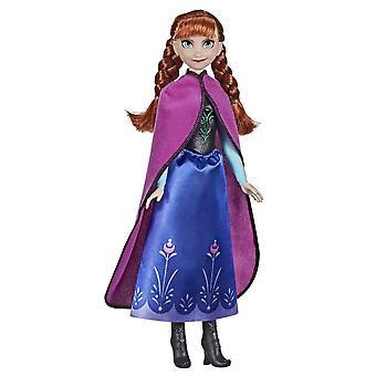 Disney Frosne Frost Anna Shimmer Fashion Doll Docka 28cm F1956