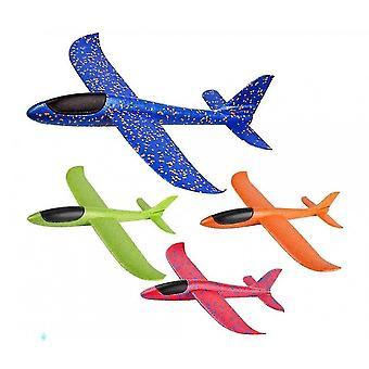Vliegtuig gooien schuim vliegtuig zweefvliegtuig vliegtuig 50 cm - kleur A